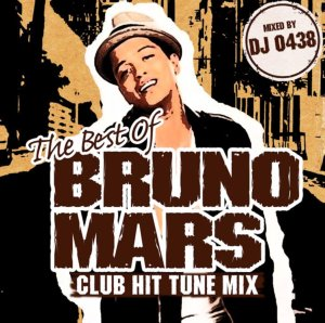 ブルーノマーズのクラブヒット曲ベスト!【洋楽CD・MixCD】The Best of Bruno Mars -Club Hit Tune Mix- / DJ 0438【M便 1/12】