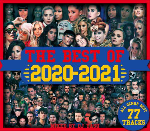 最優秀2020年ベスト盤CD! 洋楽CD MixCD The Best Of 2020-2021 -All Genre Best 77Tracks- / DJ Yasu【M便 2/12】