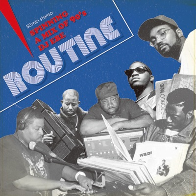 90's HIP HOP!!【MixCD】Routine / DJ Ebe【M便 1/12】