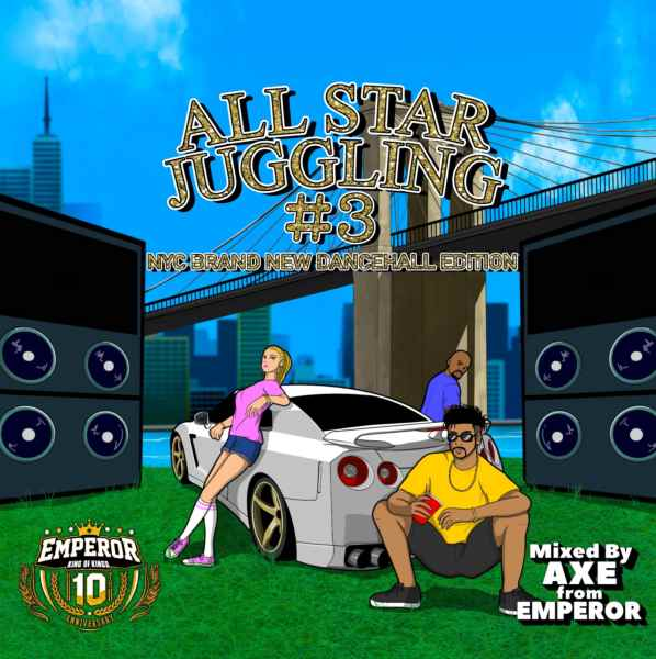 人気のBrand New Mixシリーズ! 洋楽CD MixCD All Star Juggling Vol.3 / mixed by Axe from Emperor【M便 1/12】