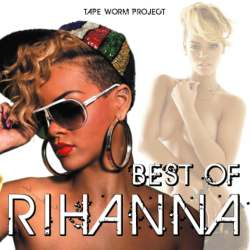 Best Of Rihanna -CD-R- / Tape Worm Project【M便 1/12】