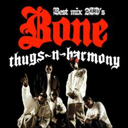 ボーン・サグスン・ハーモニー【MixCD】Bone Thugs N Harmony Best Mix -2CD-R- / Tape Worm Project【M便 2/12】