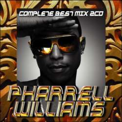 「Pharrell Williams」最強ベストMixCDが豪華「2枚組」!!【MixCD】Pharrell Williams Complete Best Mix -2CD-R- / Tape Worm Project【M便 2/12】
