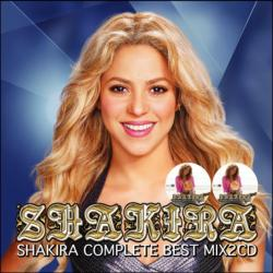 シャキーラ豪華最強ベストMix【MixCD】Shakira Complete Best Mix -2CD-R- / Tape Worm Project【M便 2/12】