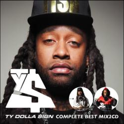 いま最も旬な男「Ty Dolla $ign」 豪華最強ベスト!【MixCD】Ty Dolla $ign Complete Best Mix -2CD-R- / Tape Worm Project【M便 2/12】