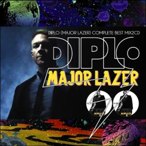ビートメイカーの「Diplo」の作品を凝縮!!【洋楽 MixCD・MIX CD】Diplo (Major Lazer) Complete Best Mix -2CD-R- / Tape Worm Project【M便 2/12】