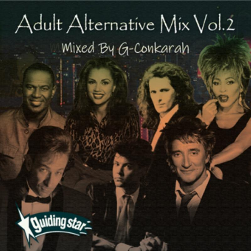 リラックスしたい時にお楽しみください。 洋楽CD MixCD Adult Alternative Mix Vol.2 / G-Conkarah of Guiding Star【M便 1/12】