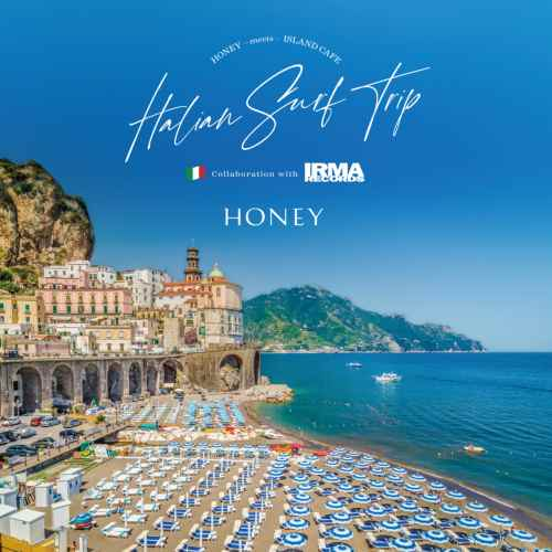 "イタリアの""海を感じる""音楽をコンパイル。【CD】Honey Meets Island Cafe -Italian Surf Trip- Collabration With Irma Records / V.A.【M便 1/12】"