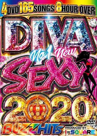 美女美女美女!2020年超最新PV集! 洋楽DVD MixDVD Diva No.1 New Sexy 2020 Buzz Hits / I-Square【M便 6/12】