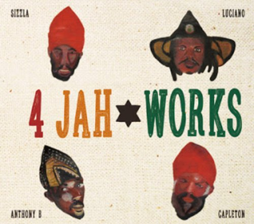 アナログ時代の過去の貴重なDub音源も再発掘!【CD・MixCD】4 Jah Works Dub Plate Collection / Oga fr. Jah Works【M便 2/12】