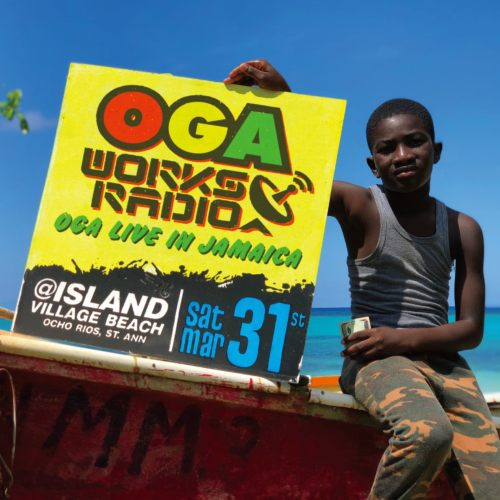 Oga Works Radio Mix Vol.8 -Oga Live In Jamaica- / Oga Jahworks