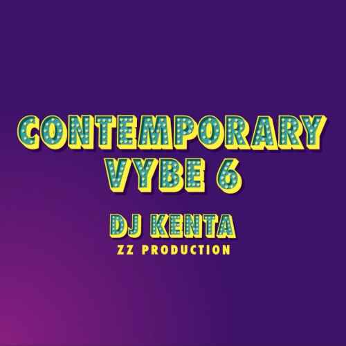 現行オルタナティブR&Bサウンド!【洋楽CD・MixCD】Contemporary Vybe 6 / DJ Kenta (ZZ Production)【M便 1/12】