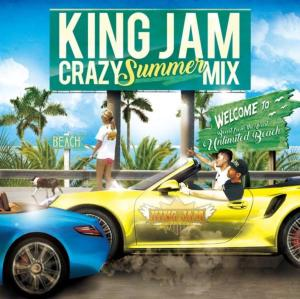 King Jamの2016年版夏ミックス!!【洋楽 MixCD・MIX CD】King Jam Crazy Summer Mix / King Jam【M便 1/12】
