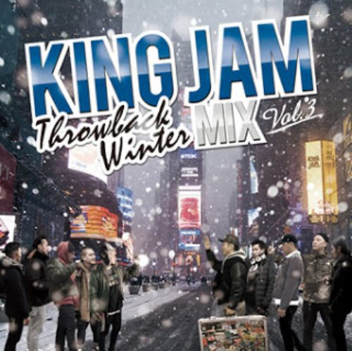 ビッグチューンを満載に収録!【洋楽CD・MixCD】King Jam Throwback Winter Mix Vol.3 / King Jam【M便 1/12】