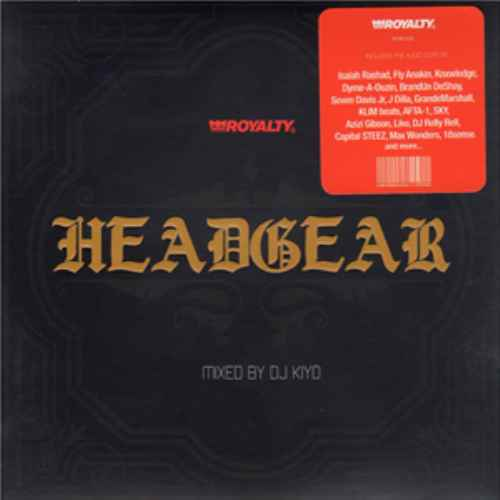 Hiphop特有のヤバさを含む楽曲達!【CD・MixCD】Head Gear / DJ Kiyo【M便 1/12】