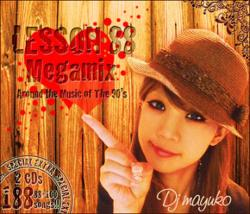 R&B・ヒップホップ・90年代・メガミックス【MixCD】Lesson 88 + 100 Megamix -Around The Music of The 90's + 10Years Megamix- (2MIX CD) / DJ Mayuko【M便 2/12】
