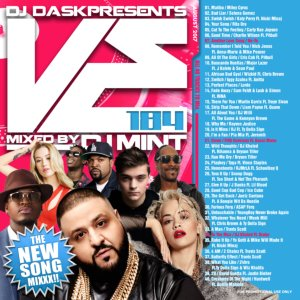 最新リリース曲を厳選&Mix!【洋楽CD・MixCD】DJ Dask Presents VE184 / DJ Mint【M便 2/12】