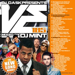 毎月最新リリース曲を厳選&Mix!【洋楽CD・MixCD】DJ Dask Presents VE185 / DJ Mint【M便 2/12】