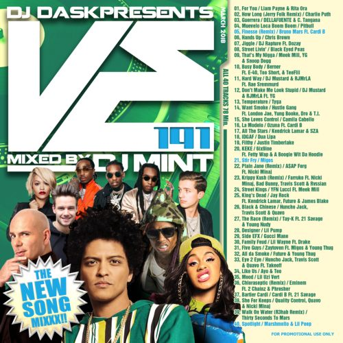 毎月最新リリース曲を厳選&Mix!【洋楽CD・MixCD】DJ Dask Presents VE191 / DJ Mint【M便 2/12】