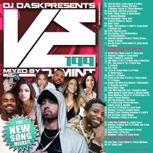 最新曲を厳選&Mix!【洋楽CD・MixCD】DJ Dask Presents VE199 / DJ Mint【M便 2/12】