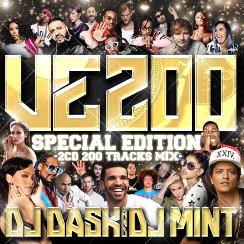 第200弾はスペシャルコラボレーション!【洋楽CD・MixCD】DJ Dask Presents VE200 -Special Edition- / DJ Dask & DJ Mint 【M便 2/12】