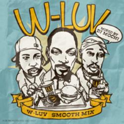 ウェッサイ【MixCD】W-Luv -Smooth Mix- / DJ Mochi【M便 1/12】