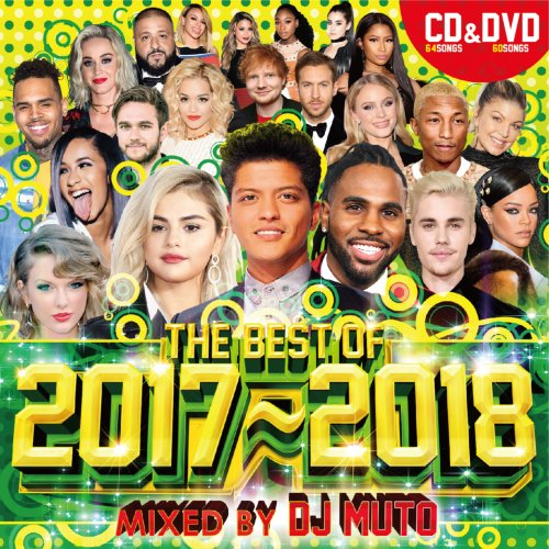 大人気Mix CD & DVDシリーズ!【洋楽CD・MixCD】【洋楽DVD・MixDVD】The Best Of 2017-2018 / DJ Muto【M便 2/12】