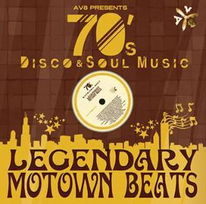 黄金期のDisco、Musicの名曲が甦る!【洋楽 MixCD・洋楽CD】AV8 Presents Legendary MoTown Beats -70's Disco & Soul Music- / DJ Oggy【M便 2/12】