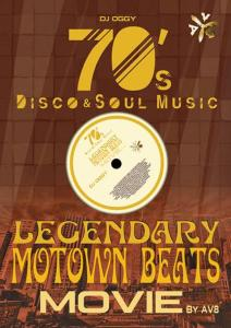 黄金期の名曲が映像と共に甦る!【洋楽DVD・MixDVD】Legendary MoTown Beats Movie by AV8 -70's Disco & Soul Music- / DJ Oggy【M便 6/12】