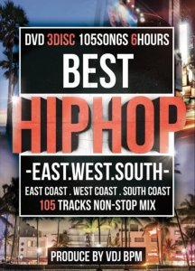 全てのHIPHOPを詰め込みました!【洋楽DVD・MixDVD】Best HIPHOP -West East South- / V.A【M便 6/12】