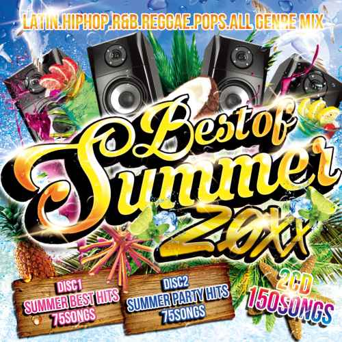 サマー必須アイテムがコレだ!【洋楽CD・MixCD】Best Of Summer 20XX -Non Stop 150Songs MIX- / V.A【M便 2/12】