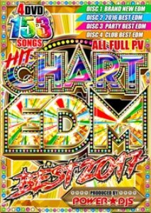 観たいEDMがぜーんぶ入ってる♪【洋楽DVD・MixDVD】Hit Chart EDM Best 2017 / Power★DJS【M便 6/12】