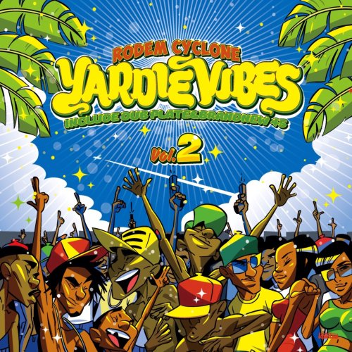 コテコテのJugglin Mix!【CD・MixCD】Yardie Vibes Vol.2 / Rodem Cyclone【M便 2/12】
