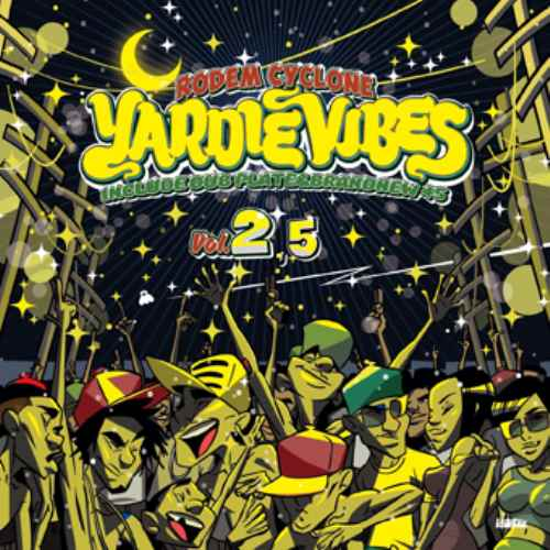 平成最後のサイクロン式MEGA MIXXX!【洋楽CD・MixCD】Yardie Vibes Vol.2.5 / Rodem Cyclone【M便 2/12】