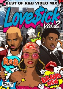 最新R&BのMusic Videoを映像でチェック!【洋楽DVD・MixDVD】Love$ick Vol.2 / V.A【M便 6/12】