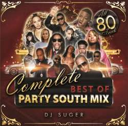 超最強パーティーサウスメガミックス!!!【MixCD】Complete Best Of Party South Mix / DJ Suger【M便 2/12】