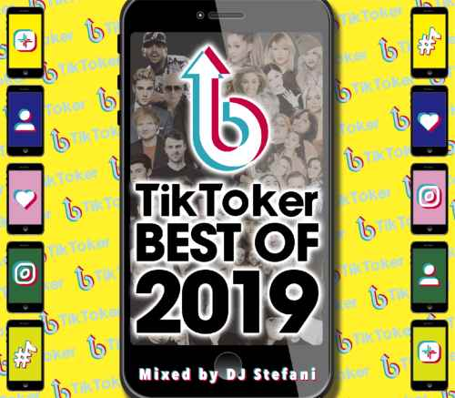 イマドキ洋楽2019ベスト盤!【洋楽CD・MixCD】Tik Tocker Best Of 2019 / DJ Stefani【M便 2/12】