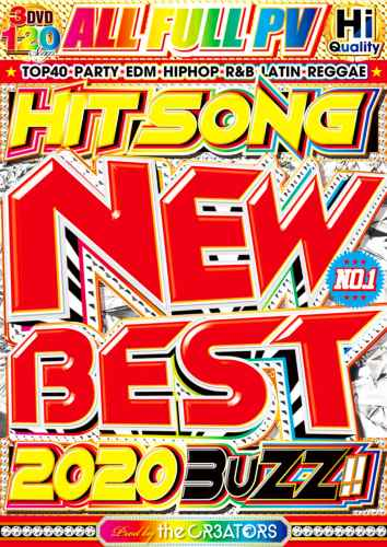 最新の洋楽ヒットを完全網羅!!【洋楽DVD・MixDVD】New Best -Hit Song 2020 Buzz- / the CR3ATORS【M便 6/12】