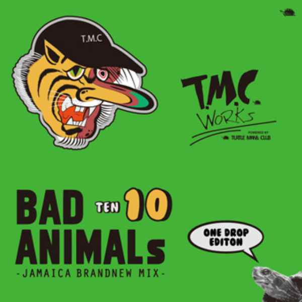 大人気Brand New Mix! 洋楽CD MixCD Bad Animals 10 Jamaica Brand New Mix -One Drop Edition- / Turtle Man's Club【M便 1/12】