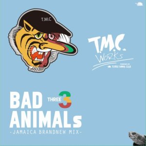 ゴリゴリのDancehall Tuneをミックス!【洋楽CD・MixCD】Bad Animals 3 -Jamaica Brand New Mix- / T.M.C Works【M便 1/12】