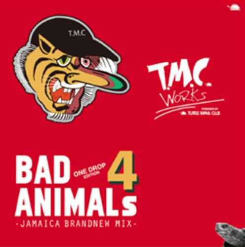 大人気Brand New Mixシリーズ!【CD・MixCD】Bad Animals 4 -One Drop Edition- / T.M.C Works (Turtle Man's Club)【M便 1/12】