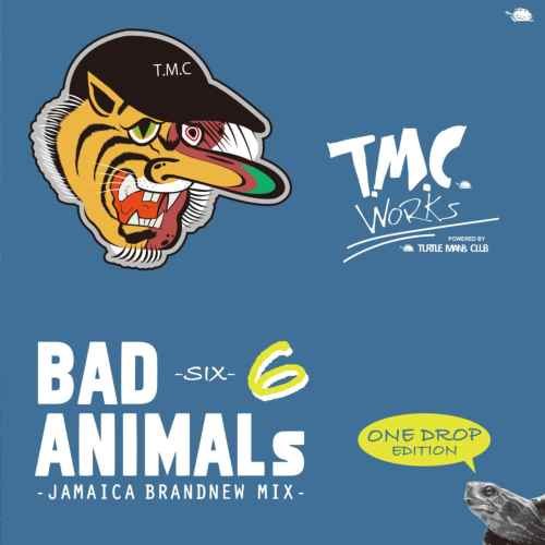 人気シリーズのワンドロップエディション!【洋楽CD・MixCD】Bad Animals 6 -Jamaica Brandnew MIX- One Drop Edition / T.M.C Works【M便 1/12】