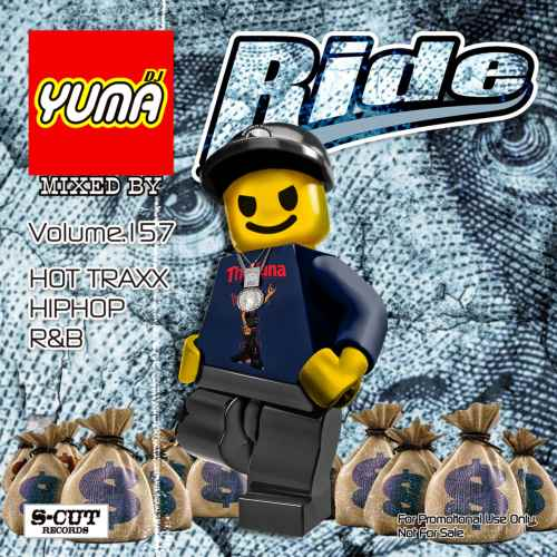 最新のHip Hop、R&Bを中心にお届け!【洋楽CD・MixCD】Ride Vol.157 / DJ Yuma【M便 2/12】